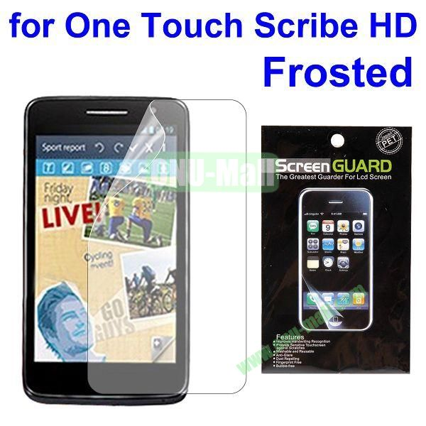 Frosted Screen Protector Film Guard for Alcatel One Touch Scribe HD