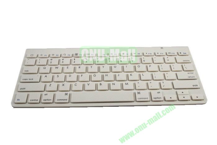 Bluetooth 3.0 Appk78 Bluetooth Wireless Keyboard For Apple iPad1iPad2The New iPadiPhoneTablet PC