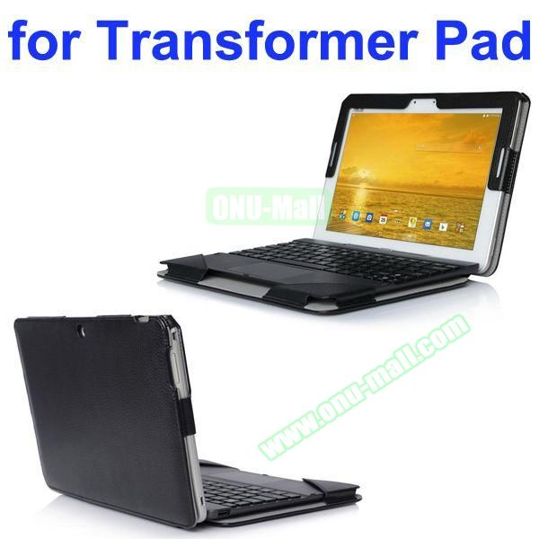 Litchi Texture Fully Armed Leather Case for Asus Transformer Pad TF303CL (Black)
