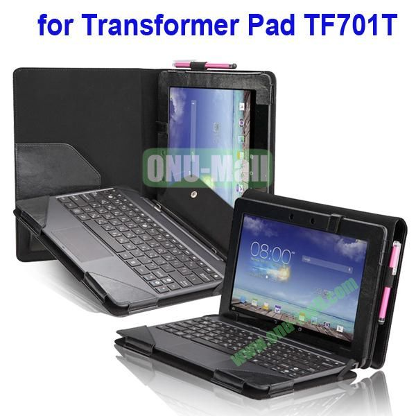 Leather Keyboard Case for Asus Transformer Pad TF701T