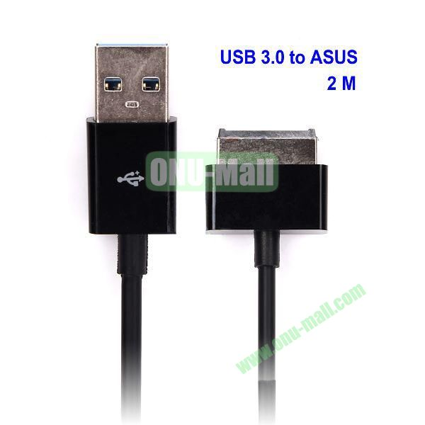 for ASUS Eee Pad Transformer TF101 TF201 USB 3.0 Male Charger Sync Cable Adapter (2M)