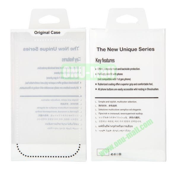 8.8x15.5x2cm Package Case Transparent PVC Cellphone Packing Box (White)
