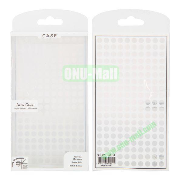 8.6x15.5x2cm Dots Design Wholesale Transparent Cellphone PVC Box Package Bag Package Case