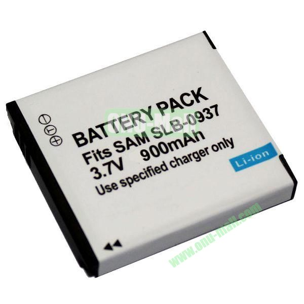3.7V 900mAh Li-ion Camera Battery Pack for Samsung SLB-0937
