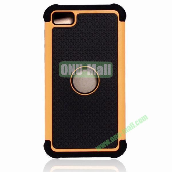 Factory Price Defender Case 3 in One Protective PC + Silicone Front and Back Cover for BlackBerry Z10(Orange)