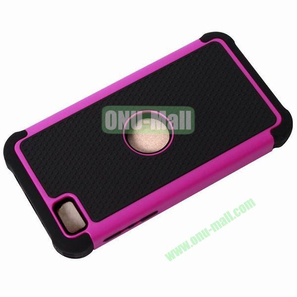 Factory Price Defender Case 3 in One Protective PC + Silicone Front and Back Cover for BlackBerry Z10(Hot Pink)