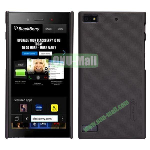 Nillkin Super Frosted Shield Hard Case for BlackBerry Z3 (Grey)