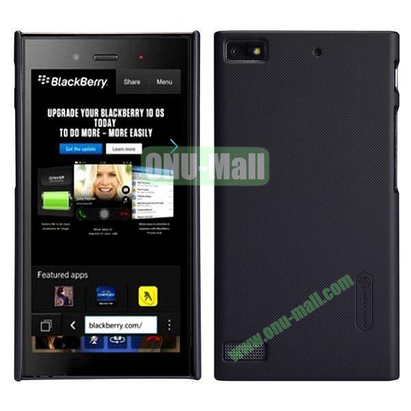 Nillkin Super Frosted Shield Hard Case for BlackBerry Z3 (Black)