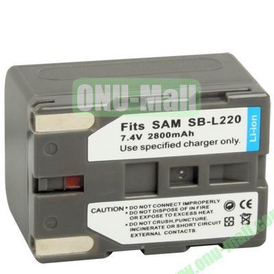 SB-L220 Battery for Samsung Digital Camera