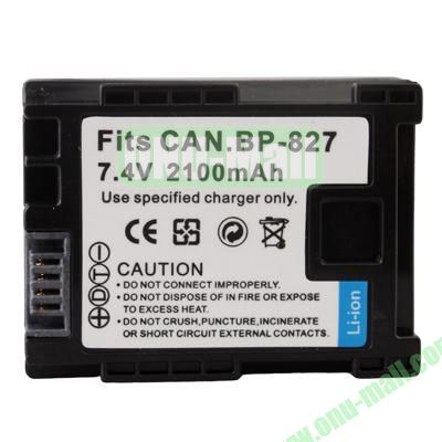 BP827 Battery for Canon VIXIA  HF200  M31  M32  M300