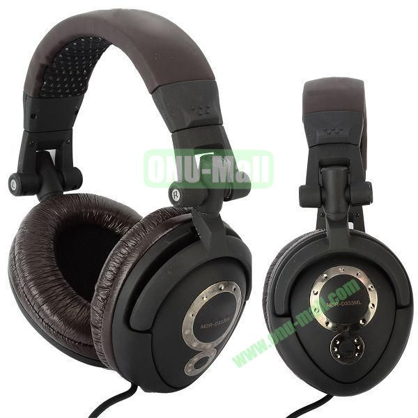 MDR-D777SL High & Wide Sound Reproduction Stereo Headphone (Brown)