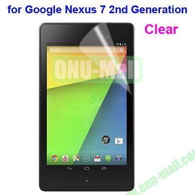 Clear Screen Protector for Google Nexus 7 II