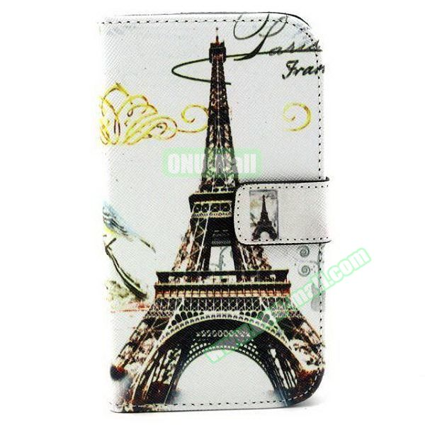 Personalized Design Flip Leather Case for Samsung Galaxy Grand Neo (Eiffel Tower)