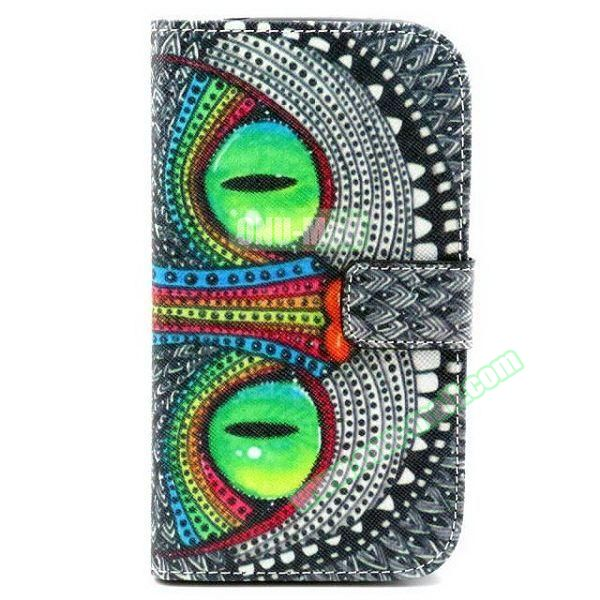 Personalized Design Flip Leather Case for Samsung Galaxy Grand Neo (Cat)