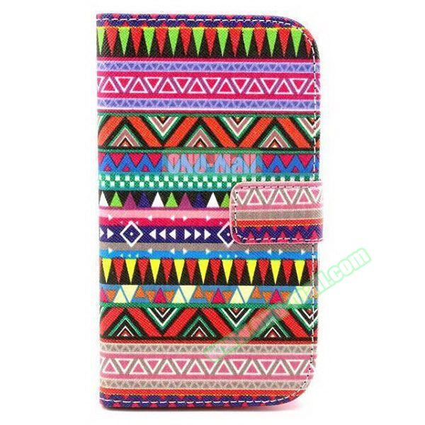 Personalized Design Flip Leather Case for Samsung Galaxy Grand Neo (Ethnic Style)