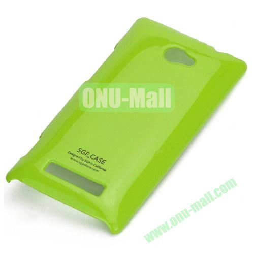 Ultra Thin Glossy PC Hard Case  for HTC 8S A620E (Green)