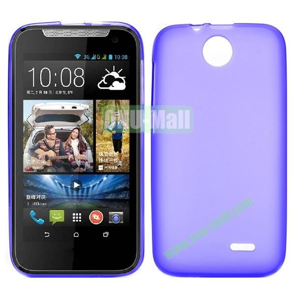 Factory Price Smooth TPU Case for HTC Desire 310 (Purple)