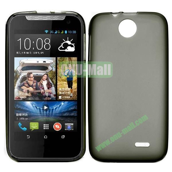 Factory Price Smooth TPU Case for HTC Desire 310 (Gray)
