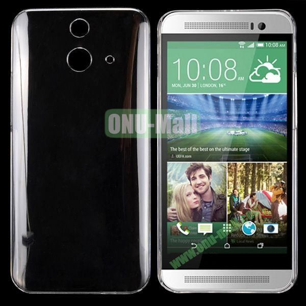 Hot Sale Transparent PC Hard Case for HTC One E8