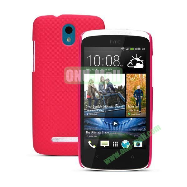Nillkin Brand Hard Case for HTC Desire 500  506e with a Screen Protector (Rose)