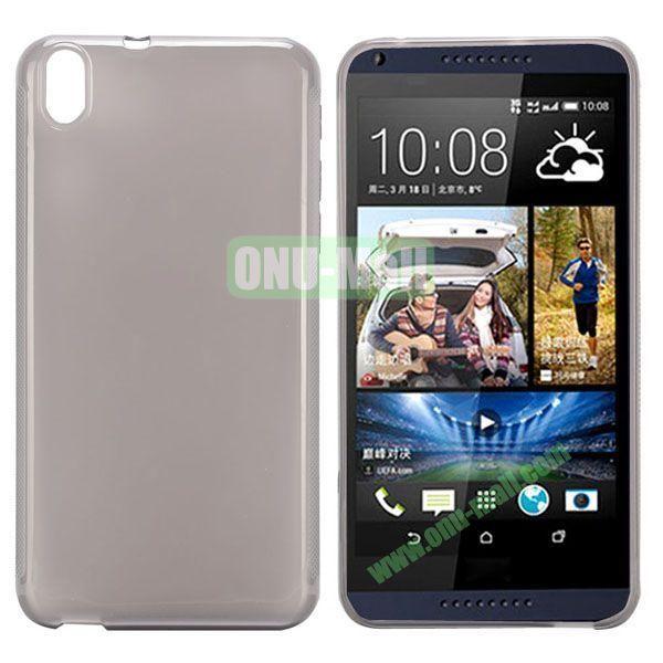 Transparent TPU Case Cover for HTC Desire 816800A5 (Grey)