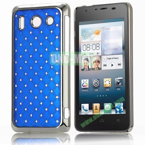 Bling Starry Sky Stars Design PC Hard Case for HuaWei G510 (Blue)