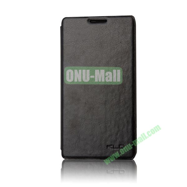 KLD England Series Flip Leather Case for Huawei G510  U8951(Black)