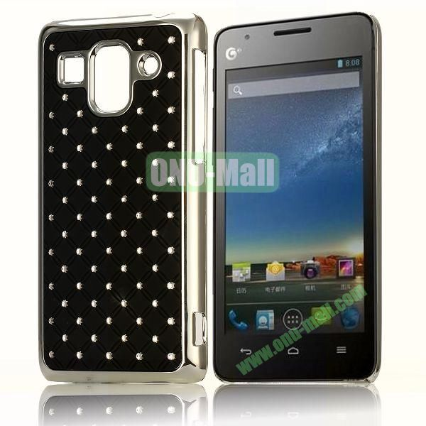 Bling Starry Sky Stars Design PC Hard Case for HuaWei G520 (Black)