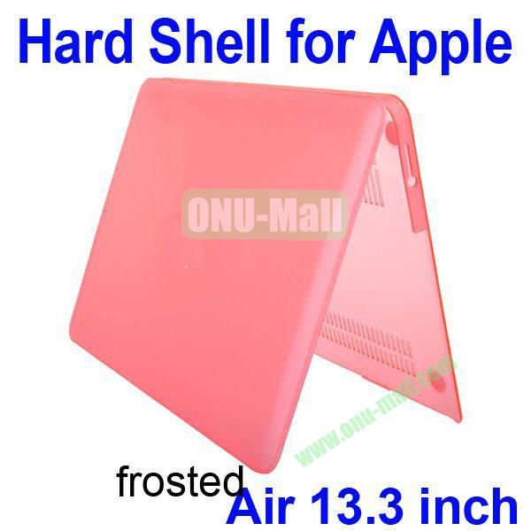Wholesale Frosted Hard Shell Rubberized Case for Apple Macbook Air 13.3 inch (Pink)