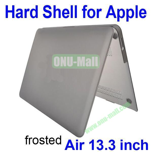 Wholesale Frosted Hard Shell Rubberized Case for Apple Macbook Air 13.3 inch (Grey)