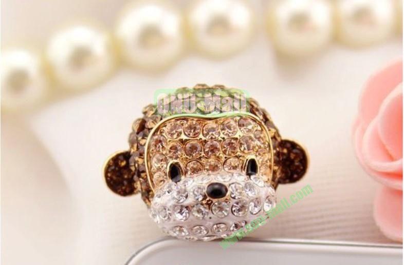 Dog Design Dustproof Plug for iPhone 5Galaxy S4Mobile Phones