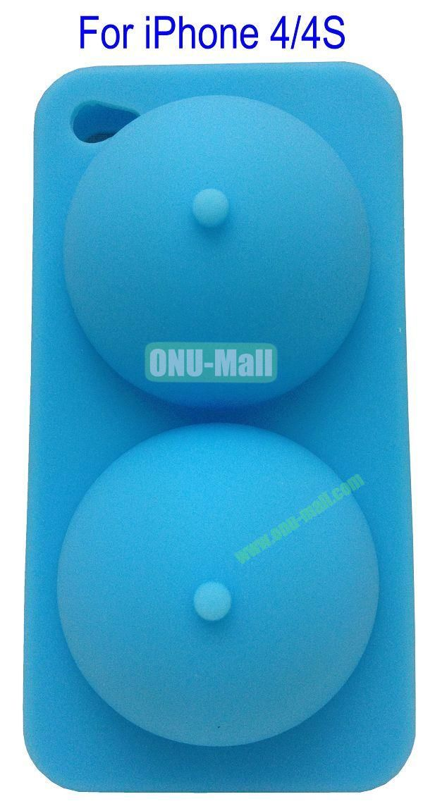 IBooty Case and Stand for iPhone 44S(Blue)