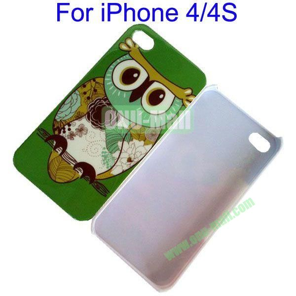 Colorful Owl Protective Case Hard Case for iPhone 4iPhone 4S