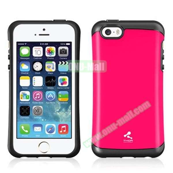 Korea Style VERUS Thor Series TPU and PC Hybrid Case for iPhone 4S (Rose)