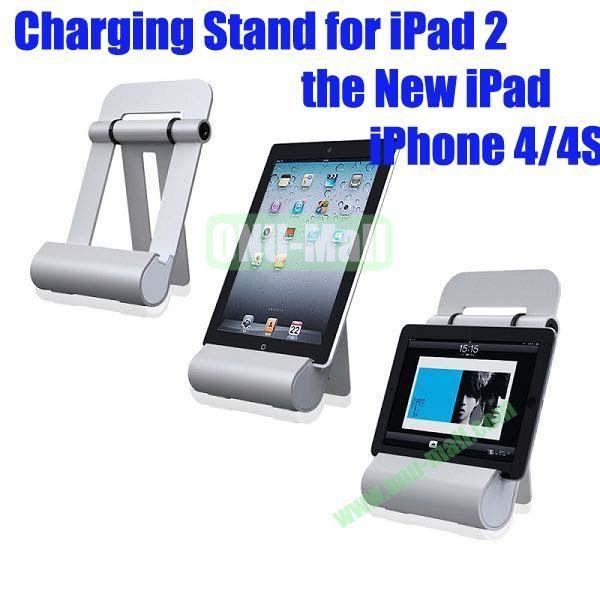 Aluminium Alloy Charging Speaker Stand for iPad 2the New iPadPhone 44S