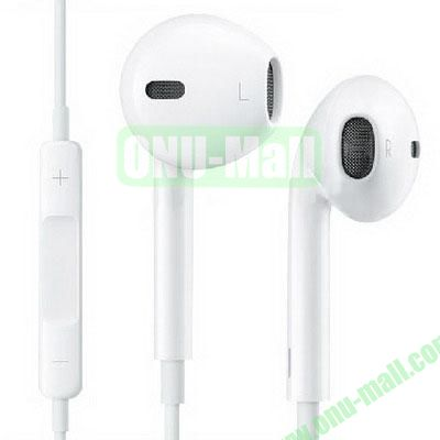 High Qality EarPods with Mic for iPhone 6/ 6 Plus, iPhone 5/5S, iPad Mini 3/ Mini Retina, iPhone 4 & 4S, iPod Touch, iPod nano