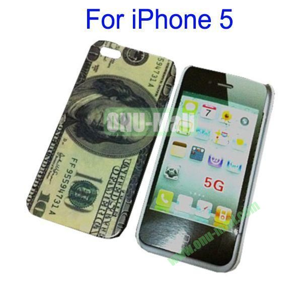 100 Pound Pattern Hard Case for iPhone 5