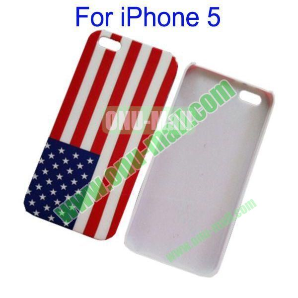 USA Flag Hard Case for iPhone 5