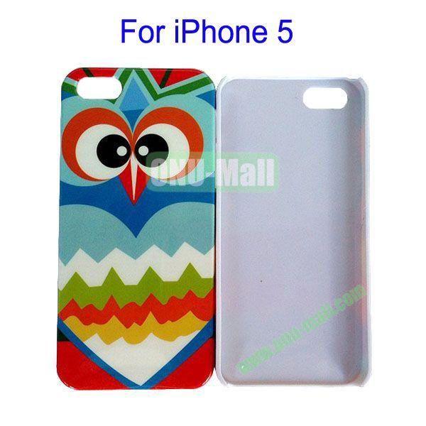 Graffiti Owl Pattern Case for iPhone 5