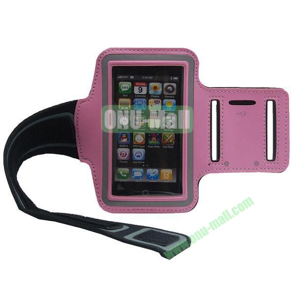 Sport Gym Running Armband Case for iPhone 5(Pink)