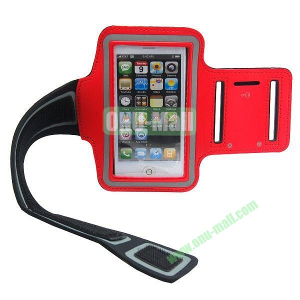 Sport Gym Running Armband Case for iPhone 5(Red)