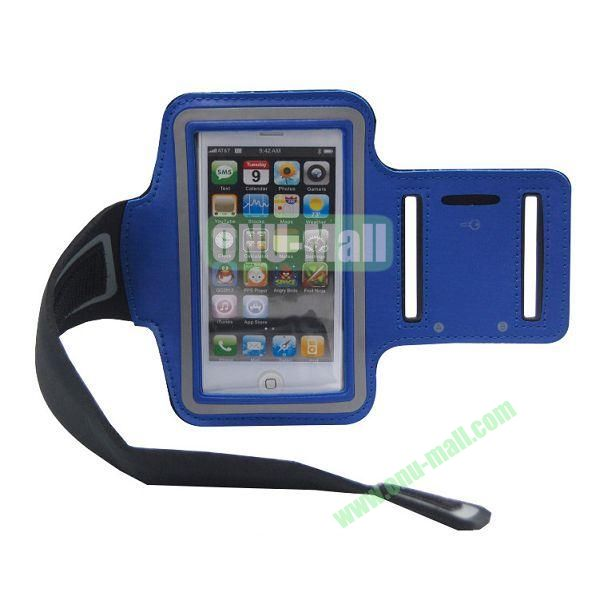Sport Gym Running Armband Case for iPhone 5(Blue)