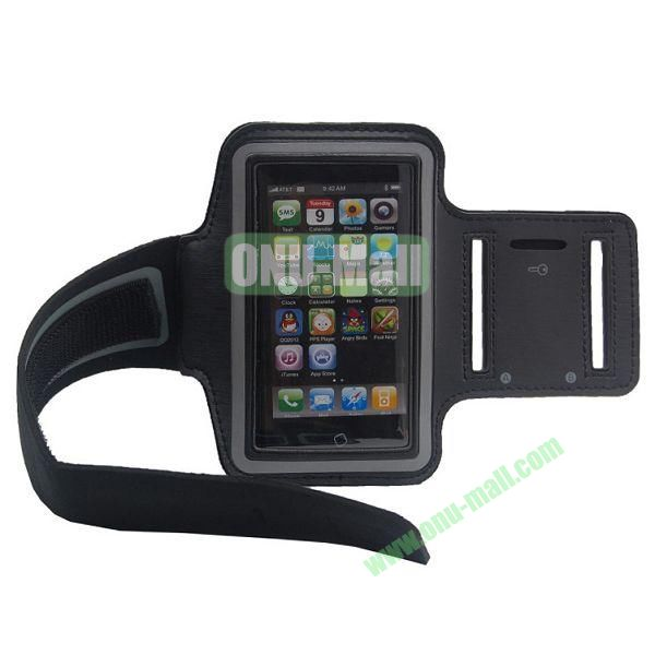 Sport Gym Running Armband Case for iPhone 5(Black)