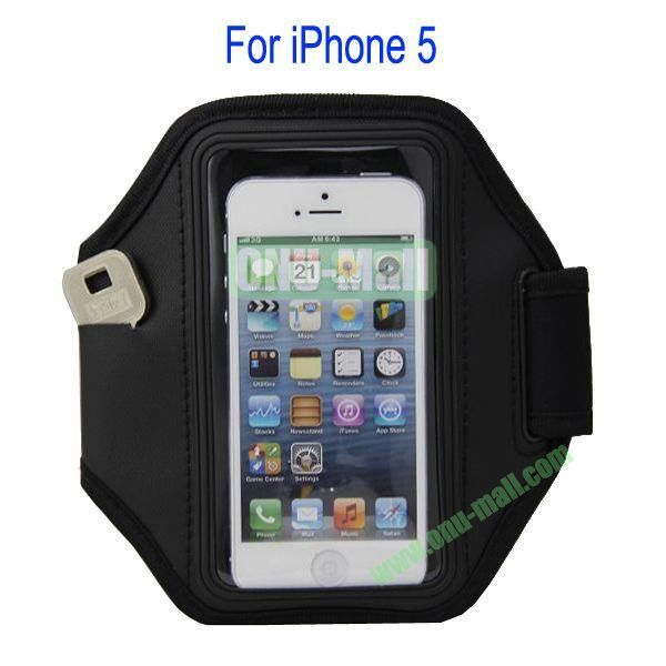 Gym Sport Armband Case for iPhone 5(Black)