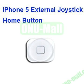 External Joystick Home Button for iPhone 5 (White)