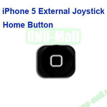 External Joystick Home Button for iPhone 5 (Black)