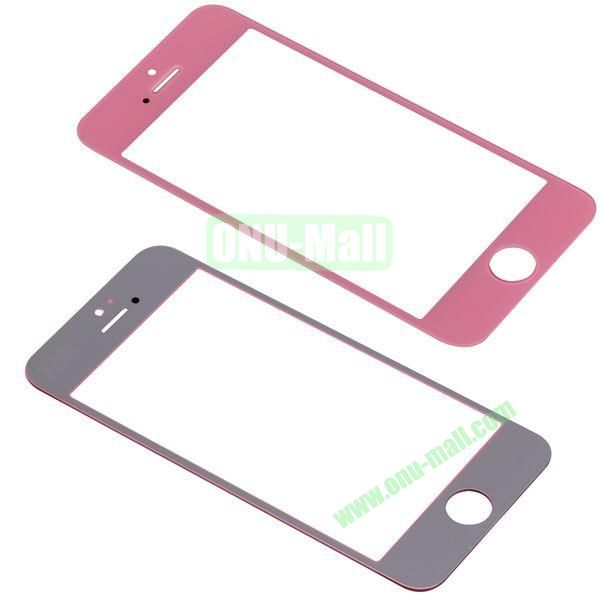 Spare Parts LCD Screen Glass Repair Part for iPhone 5 (Pink)