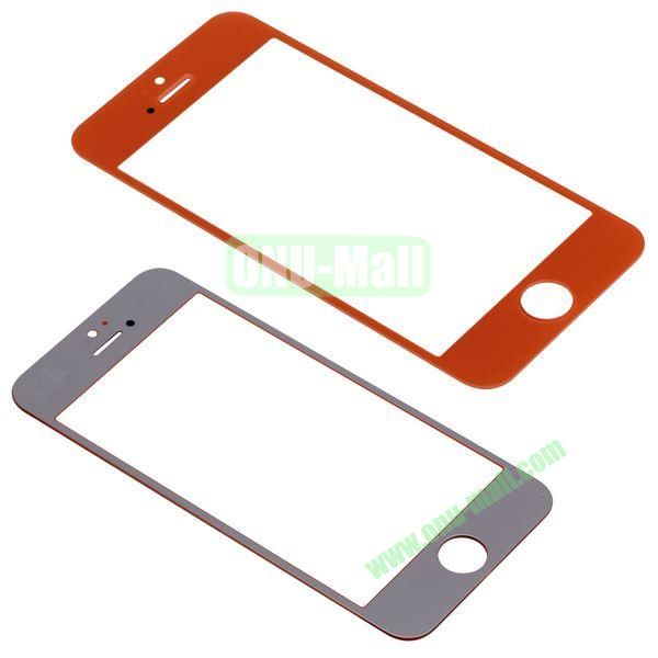 Spare Parts LCD Screen Glass Repair Part for iPhone 5 (Orange)