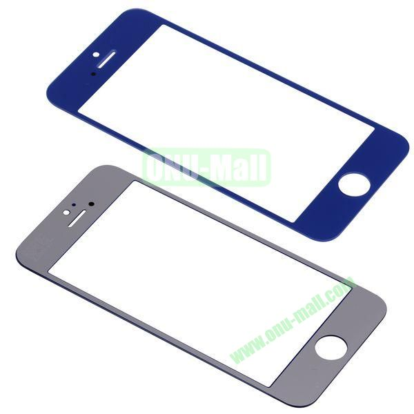 Spare Parts LCD Screen Glass Repair Part for iPhone 5 (Dark Blue)