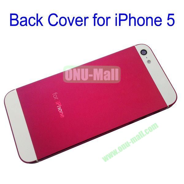 Back Cover Replacement Repair Parts for iPhone 5 (Red)
